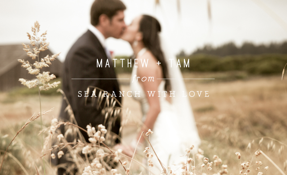 And Sea Ranch Made For An Incredibly Dramatic Backdrop To This Intimate Family Wedding